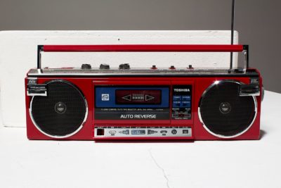 Alternate view 1 of Lauryn Red Boombox