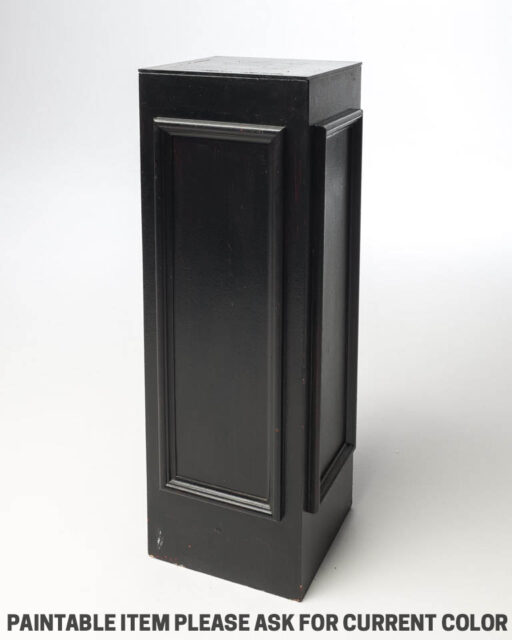 Front view of Paintable Framed Pedestal