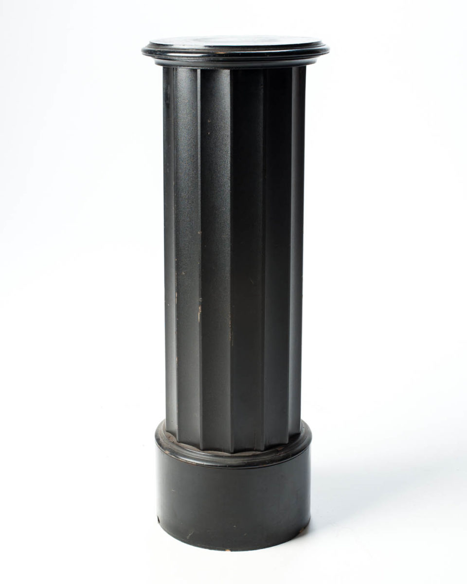 Front view of Clark Pedestal