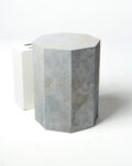 Front view thumbnail of Medium Gable Textured Pedestal
