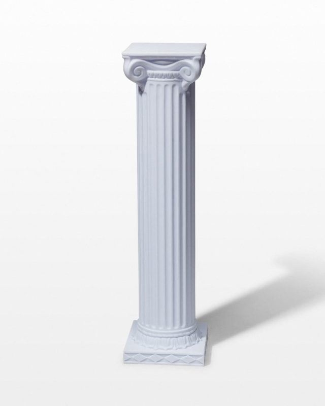 "Front view of Dover 39"" Column"