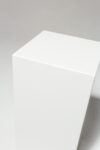 Alternate view thumbnail 2 of Benny Low White Lacquer Pedestal