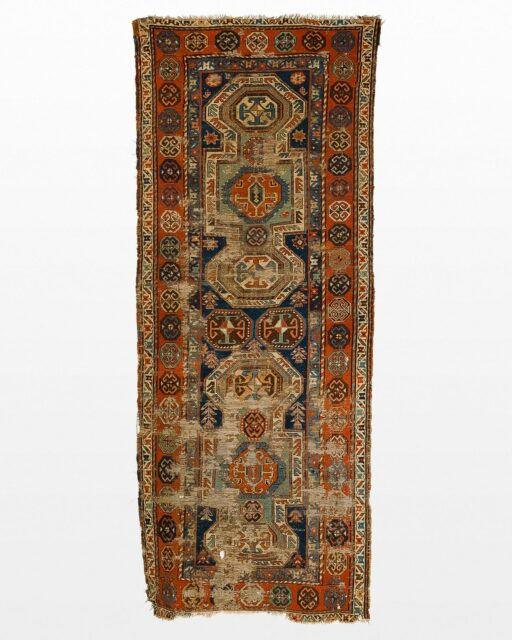 Front view of Razoul 4' x 10' Persian Runner