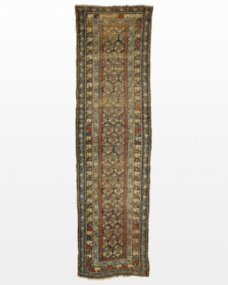 Front view of Sahara 3' x 10' Runner