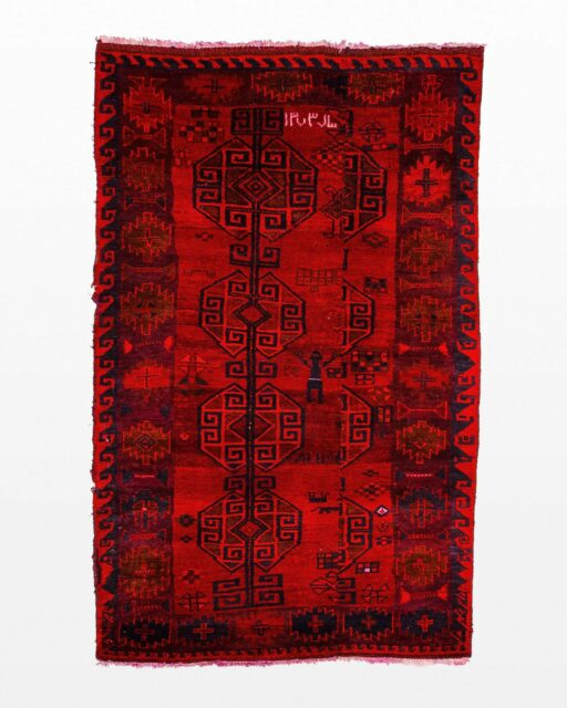 Front view of Bursa 3.75' x 6' Rug