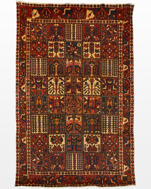 Front view of Zilka 6.5' x 10' Rug