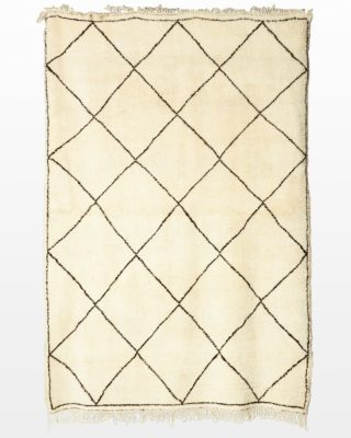 Front view of Beni 8' x 11' Moroccan Rug