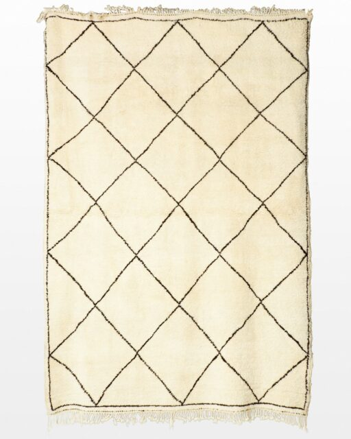 Front view of Beni 8 x 11′ Foot Moroccan Rug