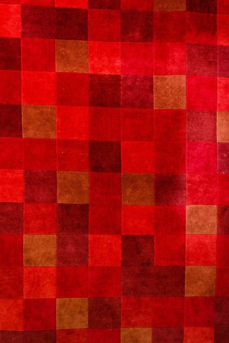 Alternate view 1 of Red Block 8.75' x 12.5' Rug