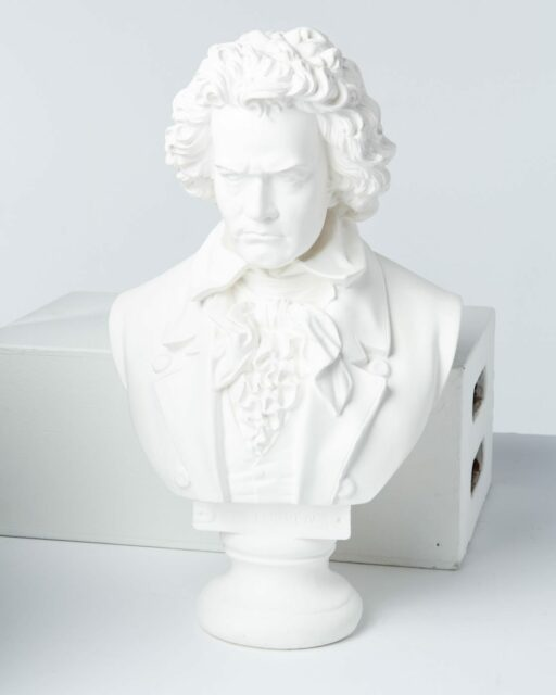 Front view of Beethoven Bust