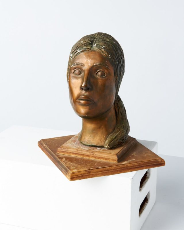 Front view of Judy Bust