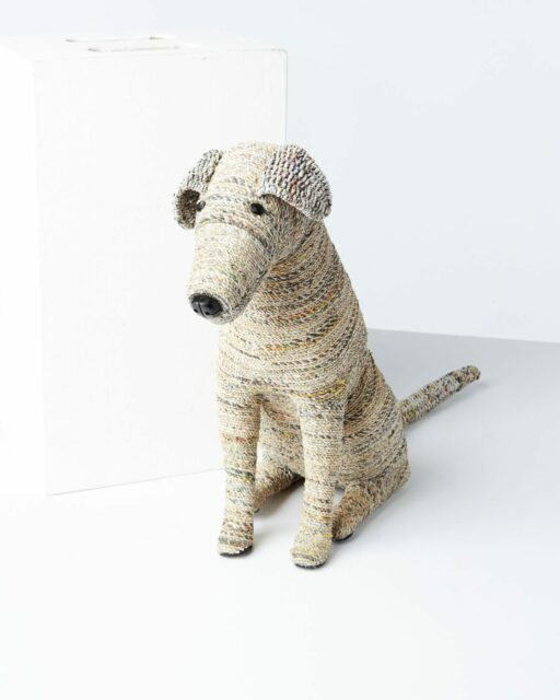Front view of Oliver Woven Dog