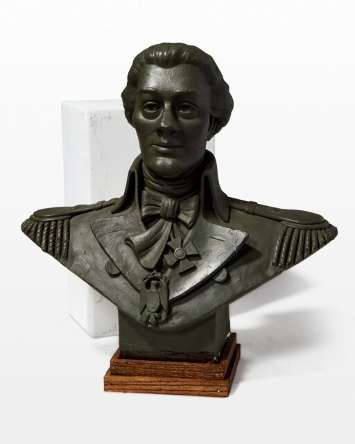 Front view of Captain Bust