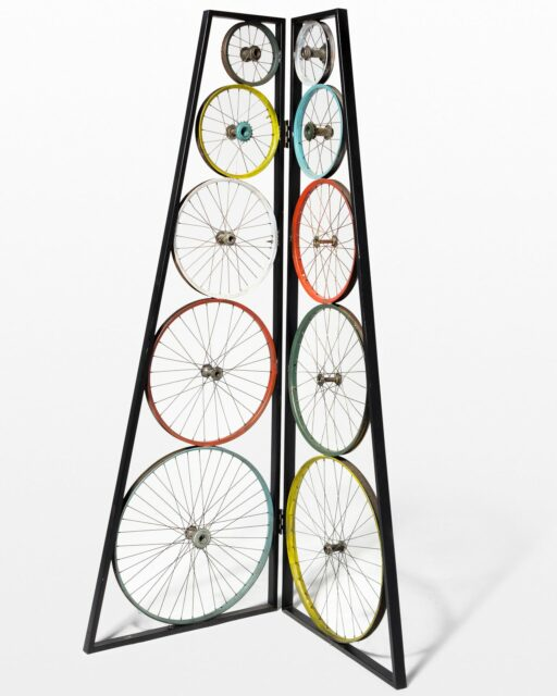 Front view of Albert Cycle Screen Sculpture