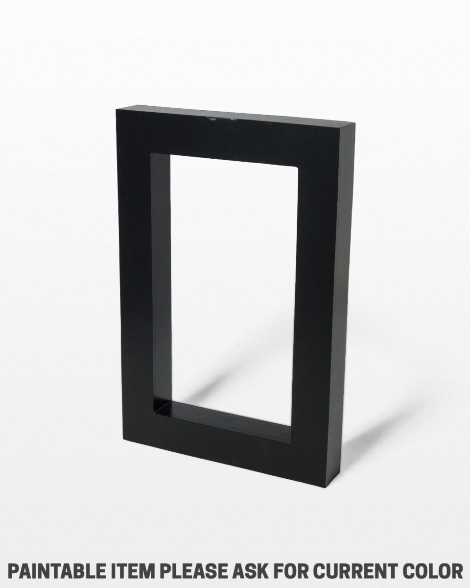 "Front view of Small Beale Paintable 24"" x 36"" Frame Shape"