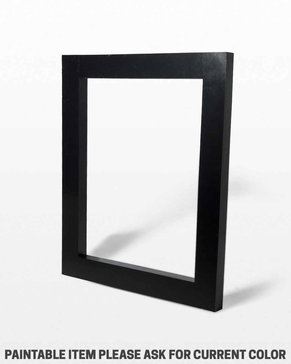 "Front view of Large Beale Paintable 49"" x 60"" Frame Shape"