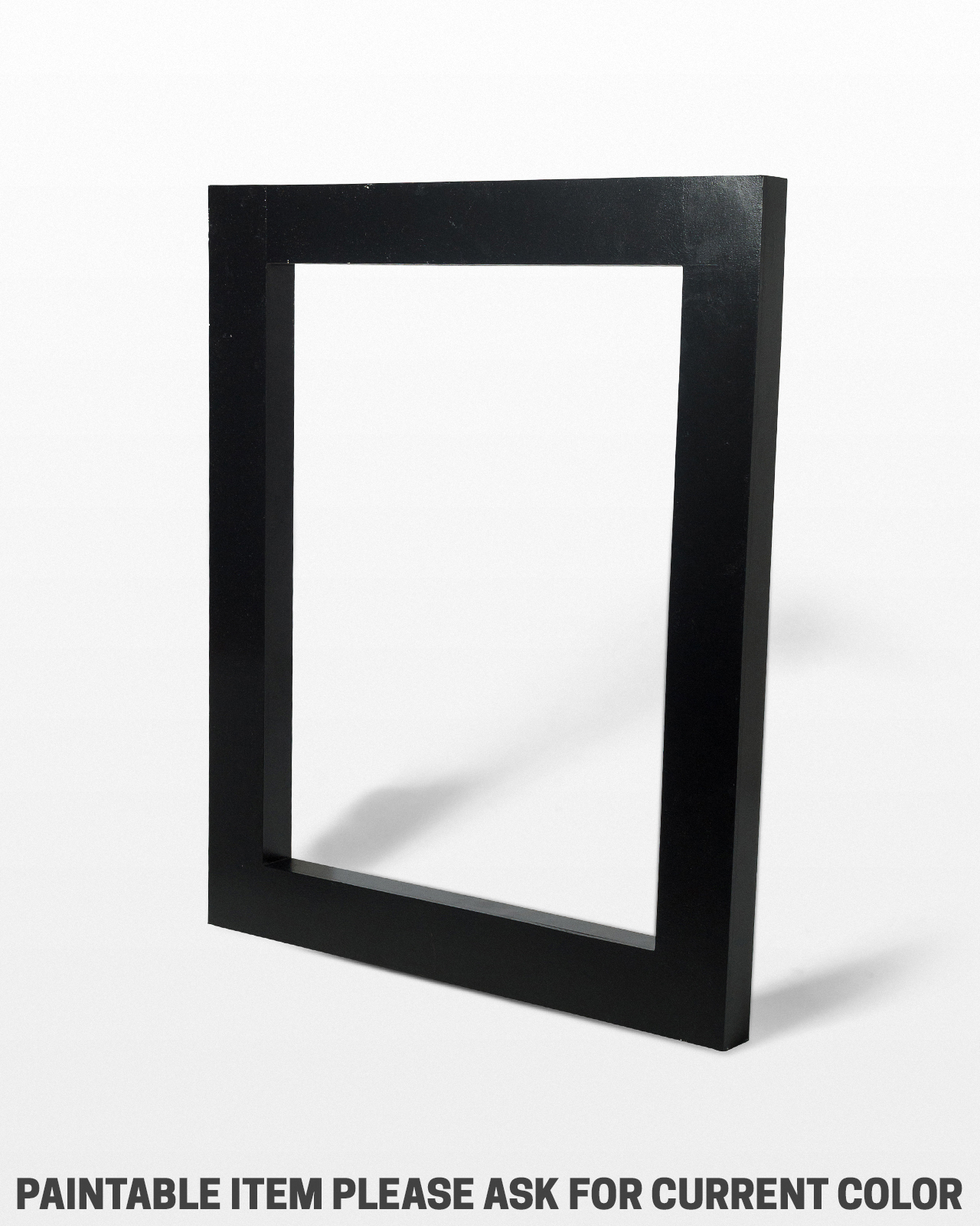 SE004 Large Beale Paintable Frame Shape Prop Rental | ACME Brooklyn