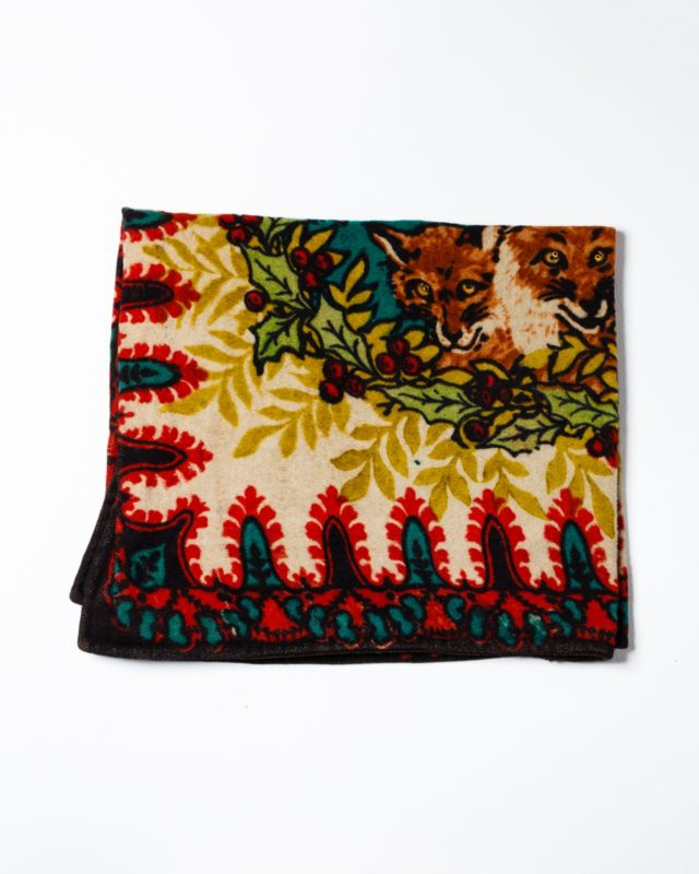 Front view of Fox Quilt