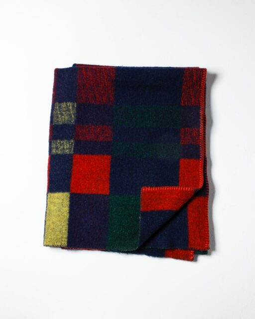Front view of Warren Fleece Blanket