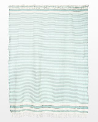 Alternate view 2 of Turquoise Line Throw