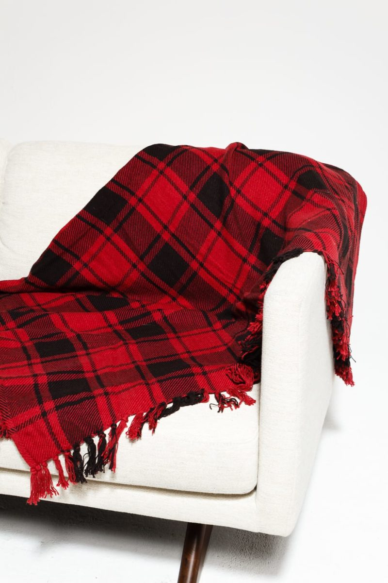 Alternate view 2 of Cadbury Plaid Throw