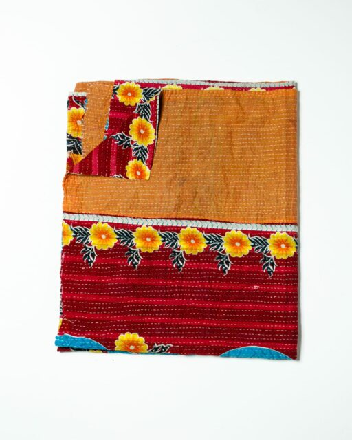 Front view of Stacy Patch Blanket