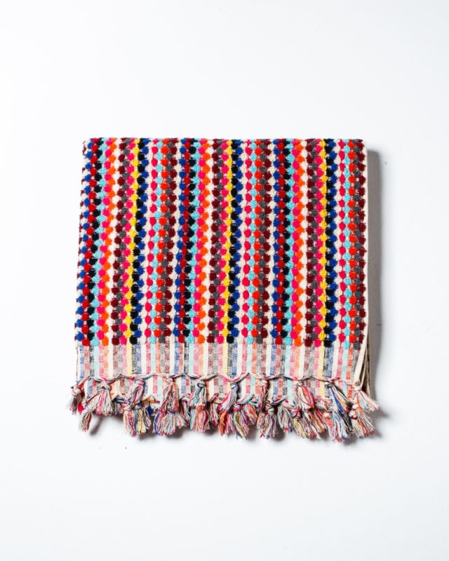 Front view of Shannon Woven Throw