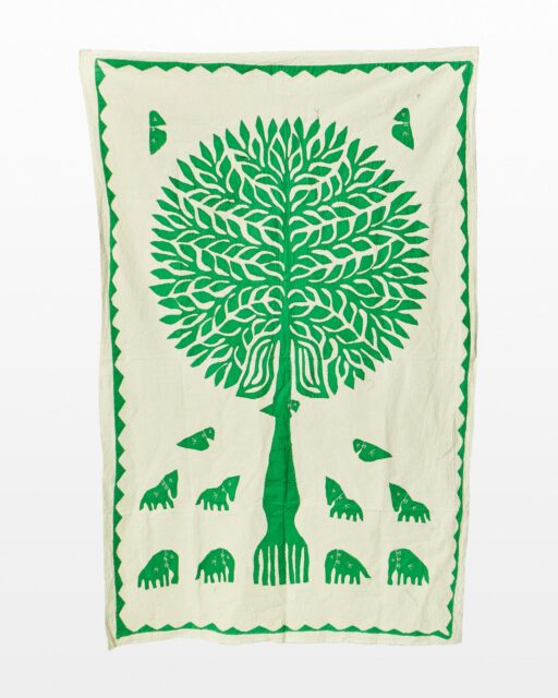 Front view of Lisbet Tree Tapestry