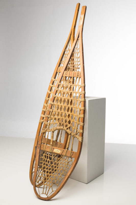 Front view of Snowshoes