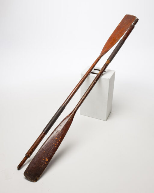 Front view of Canoe Paddles