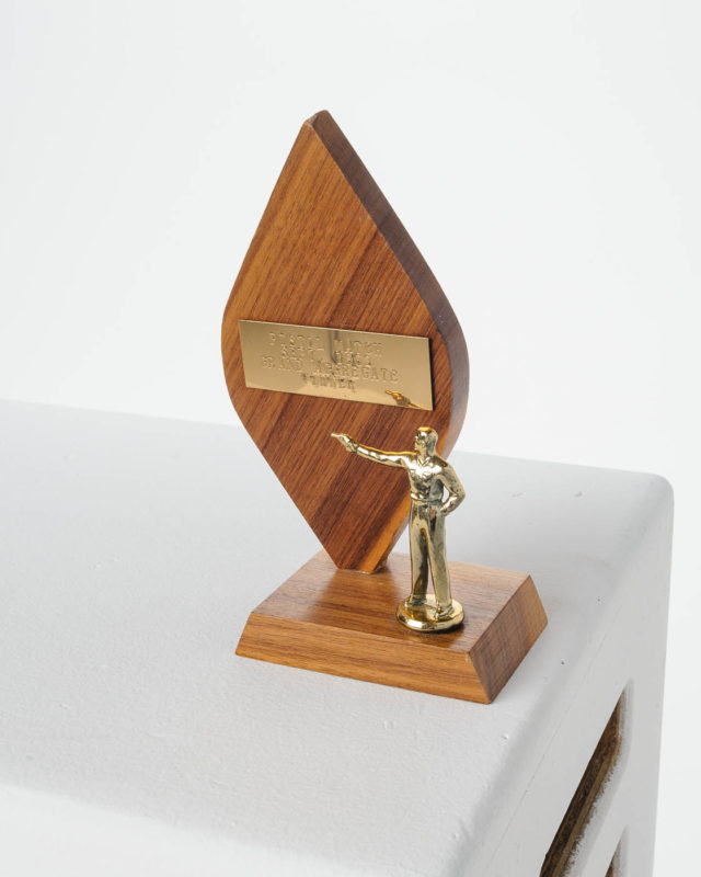 Front view of Achieve Trophy