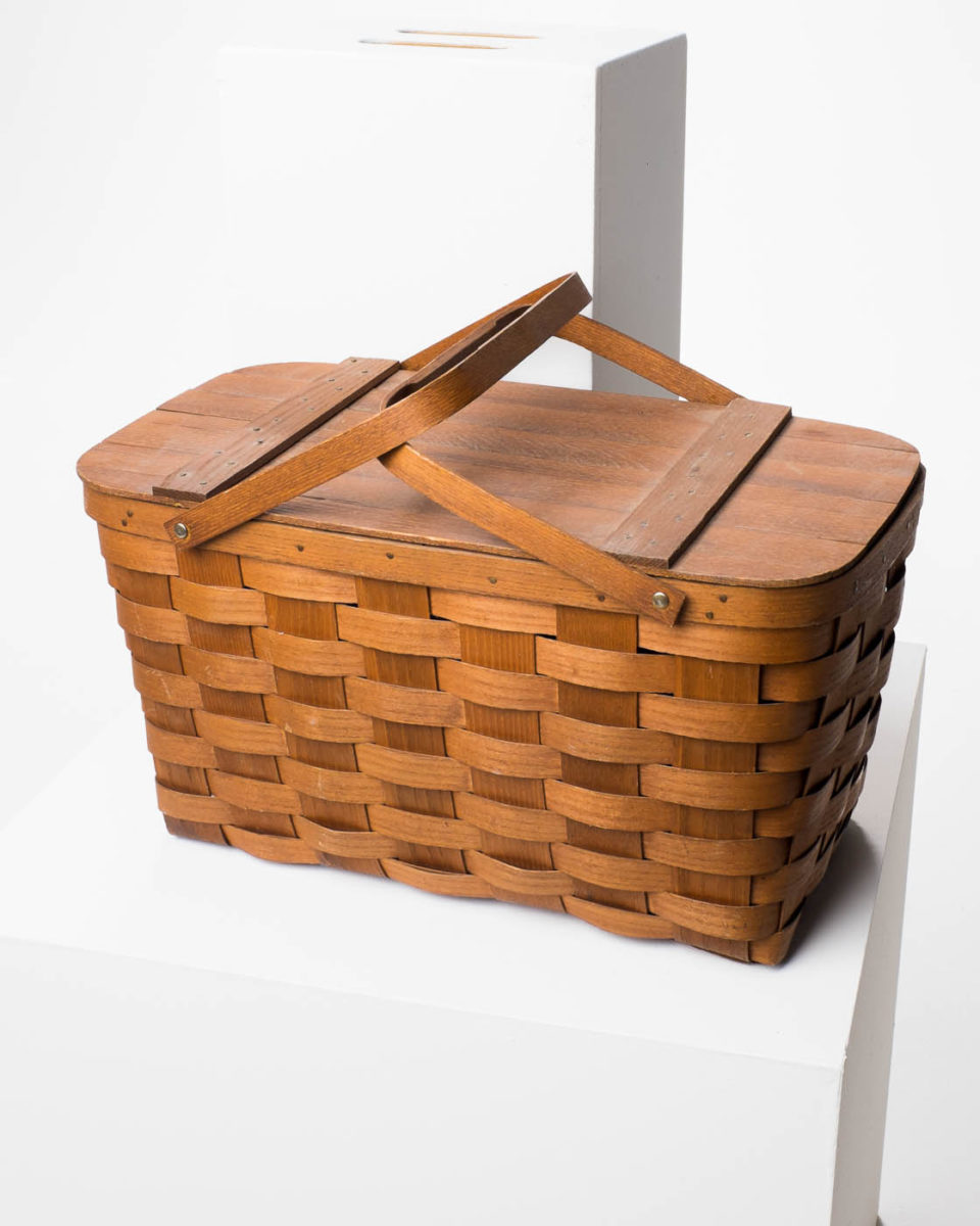 Front view of Meadow Picnic Basket