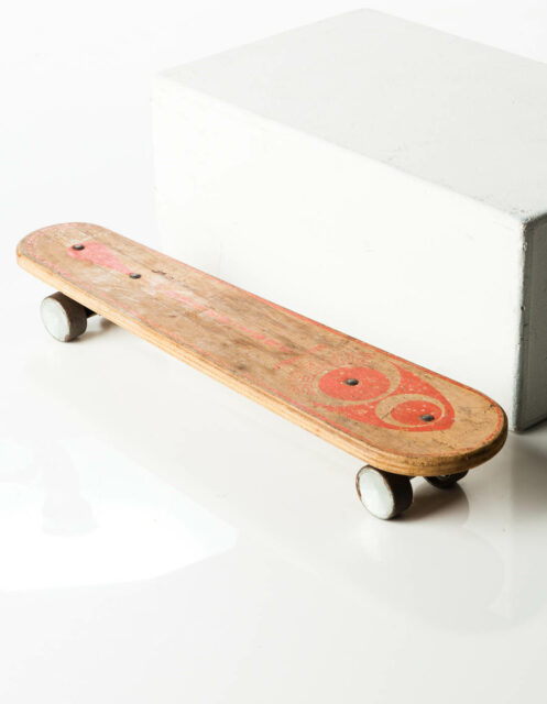 Front view of Alvin Skateboard
