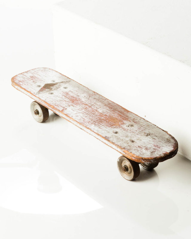 Front view of Thomas Skateboard