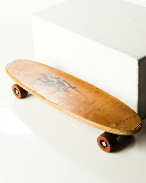 Front view of Mullen Skateboard