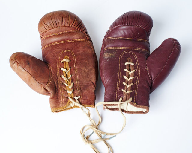 Alternate view 2 of Rockwell Vintage Boxing Gloves