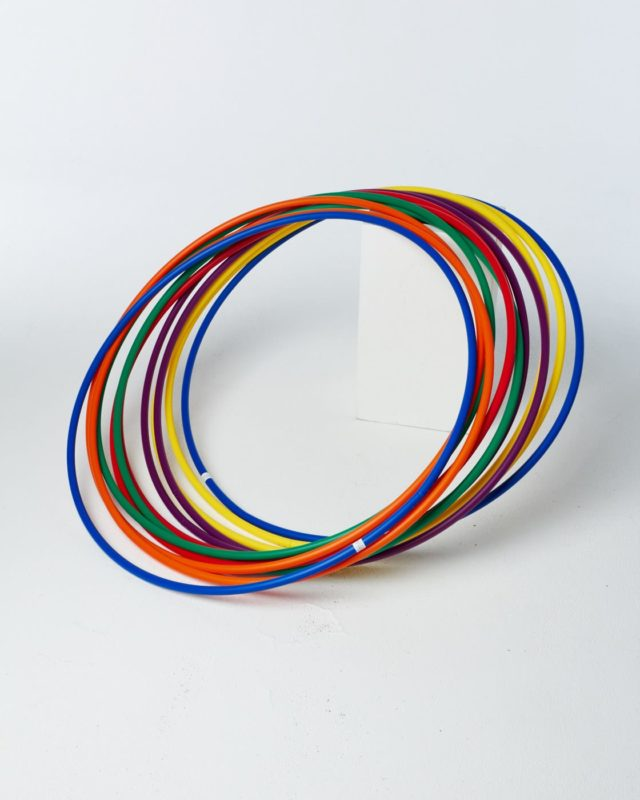 Front view of Rainbow Rings