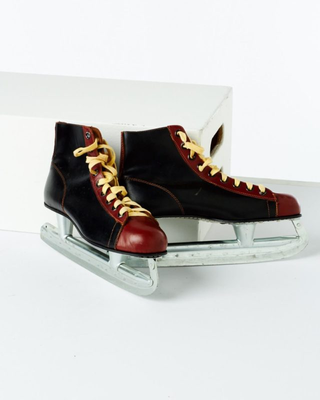 Front view of Martin Ice Skates
