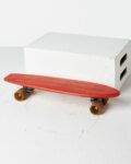 Front view thumbnail of Malibu Red Skateboard