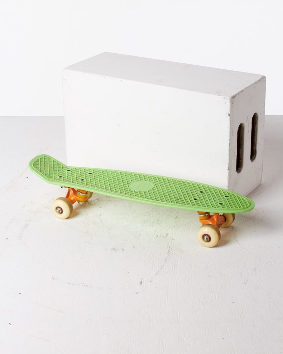 Front view of Beverly Skateboard