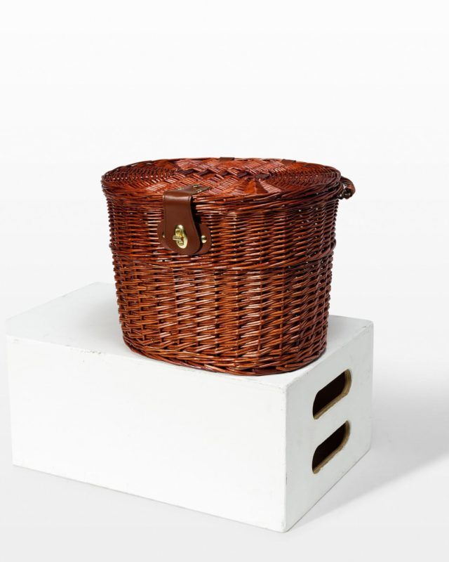 Front view of John Bicycle Basket