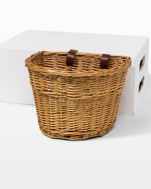 Front view of Judy Bicycle Basket