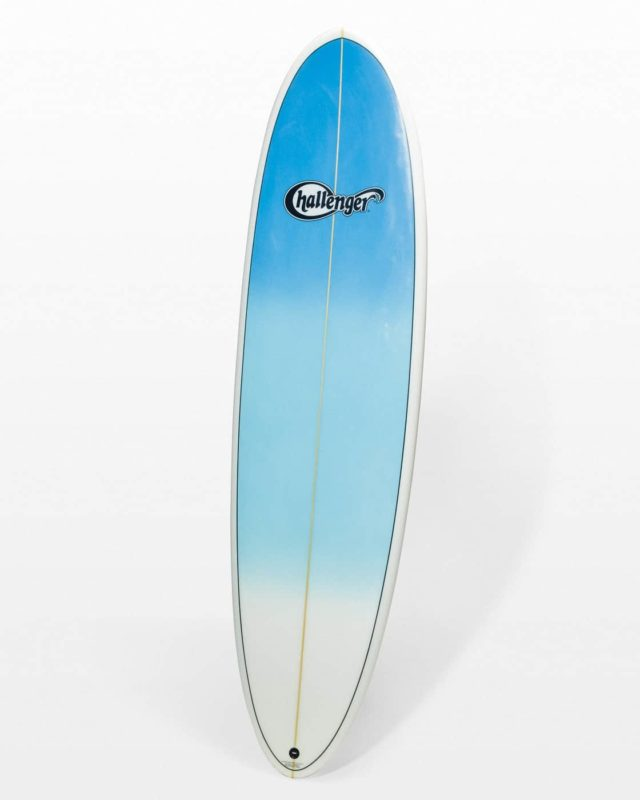 Front view of Port Surfboard