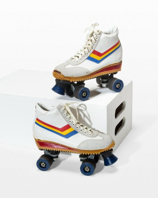 Front view of Cosmo Roller Skates