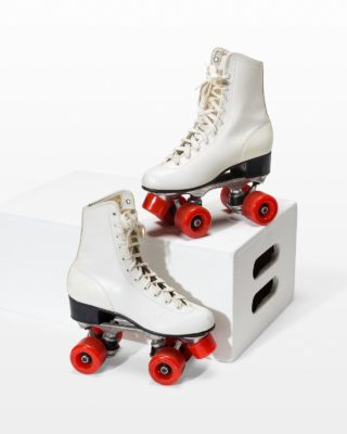Front view of Ice Roller Skates