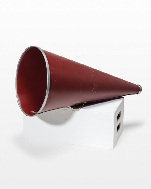 Front view of Claron Megaphone