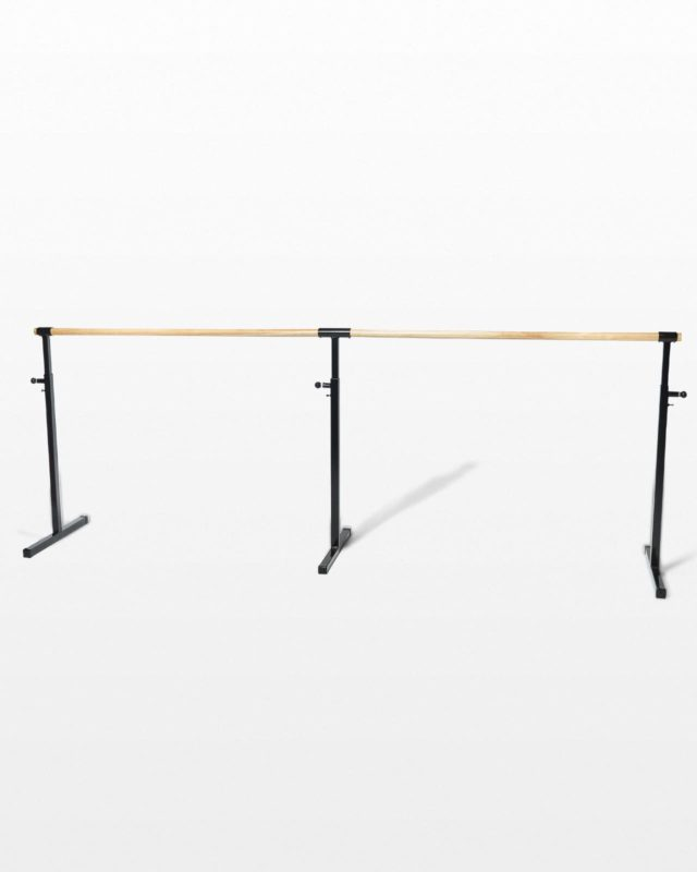 Front view of Angelina Adjustable Ballet Barre