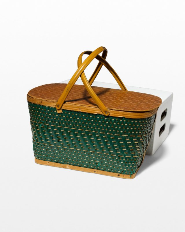 Front view of Valley Picnic Basket
