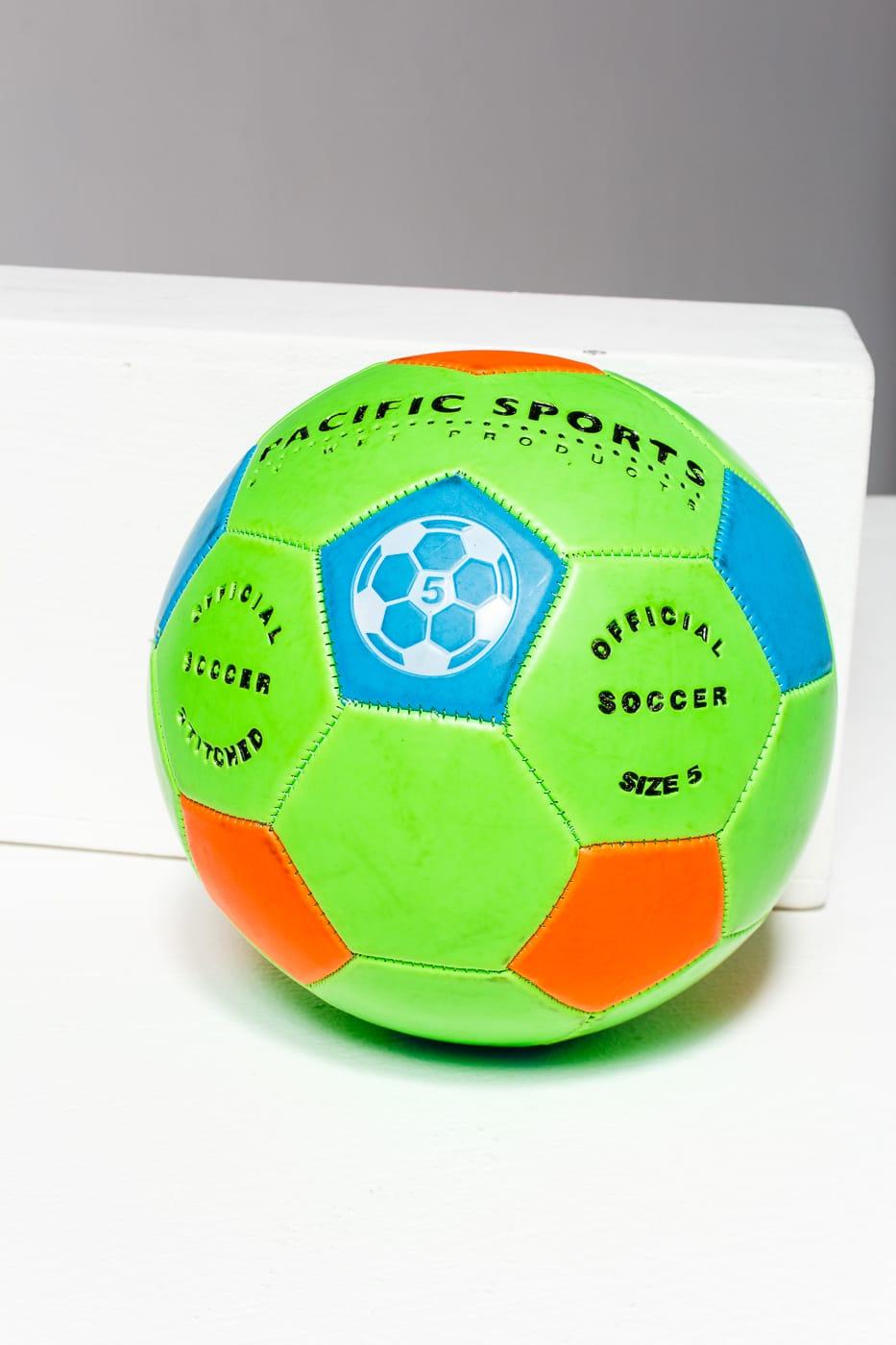 Sp148 Atomic Green Kids Soccer Ball Prop Rental Acme