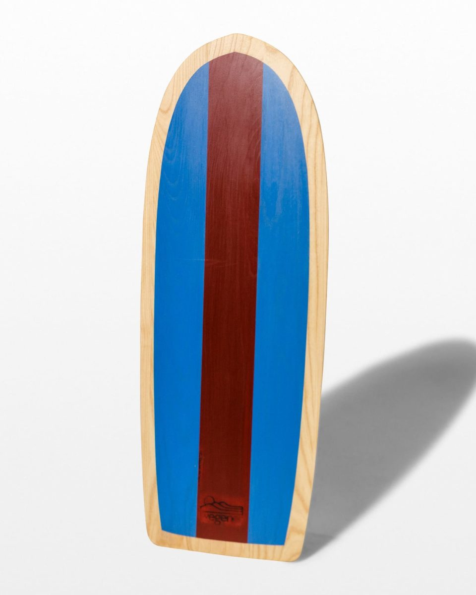 Front view of Monterey Wooden Boogie Board